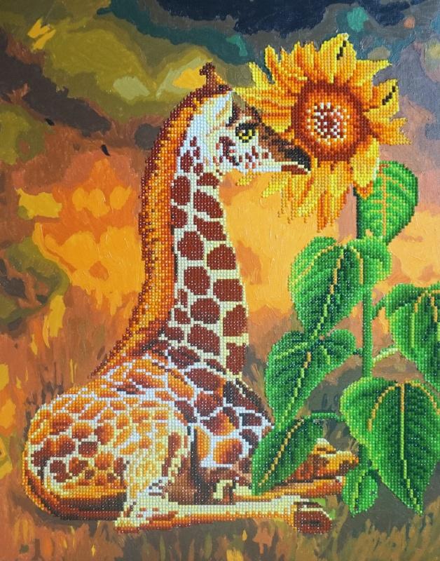 алмазная мозаика Color Kit алмазная картина раскраска 2 в 1