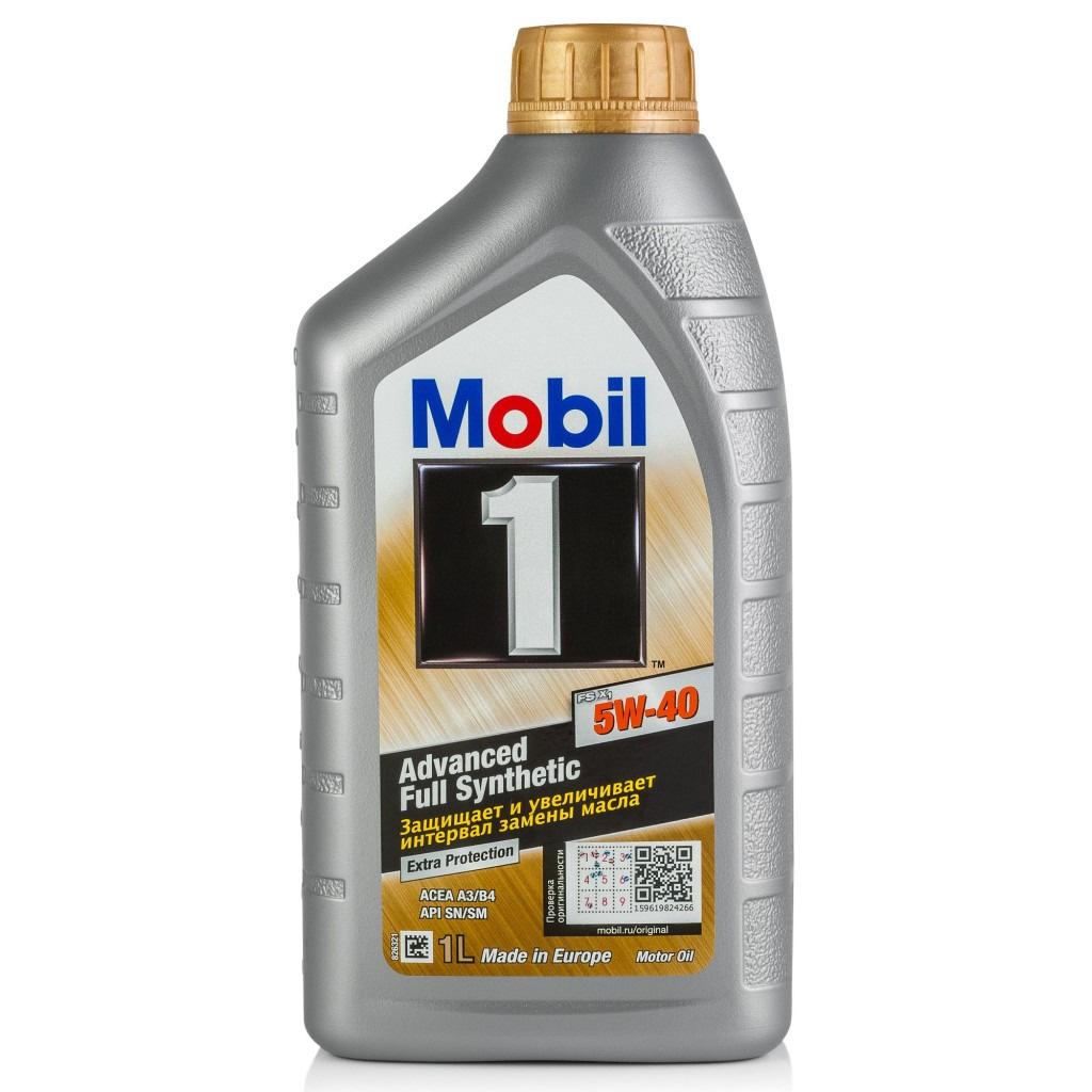 Моторное масло MOBIL 1 FS X1 5W-40 Синтетическое 1 л #1
