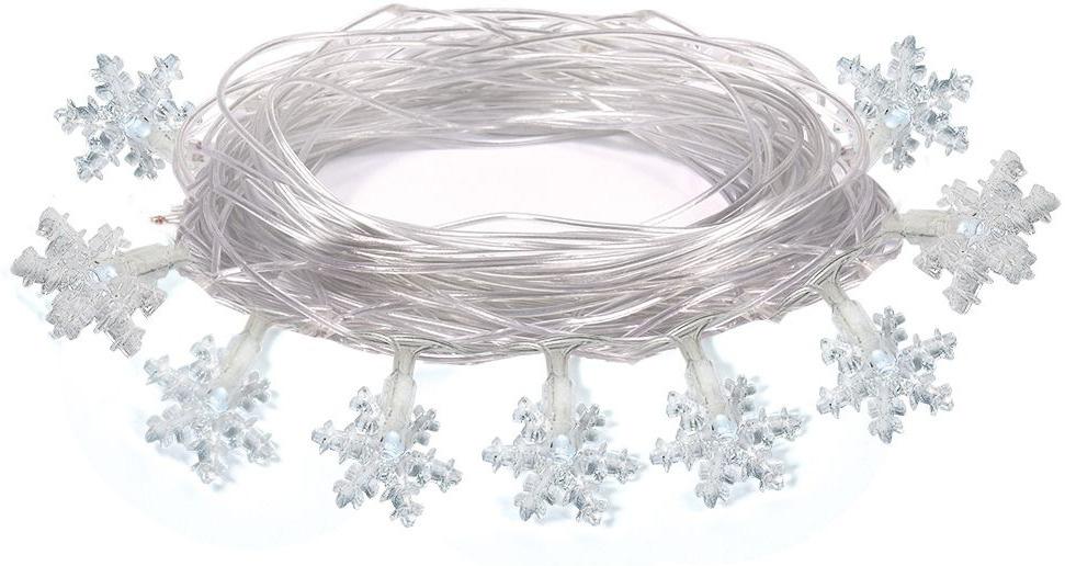 Электрогирлянда интерьерная Звезды VEGAS Светодиодная 80 ламп, 10 м  #1