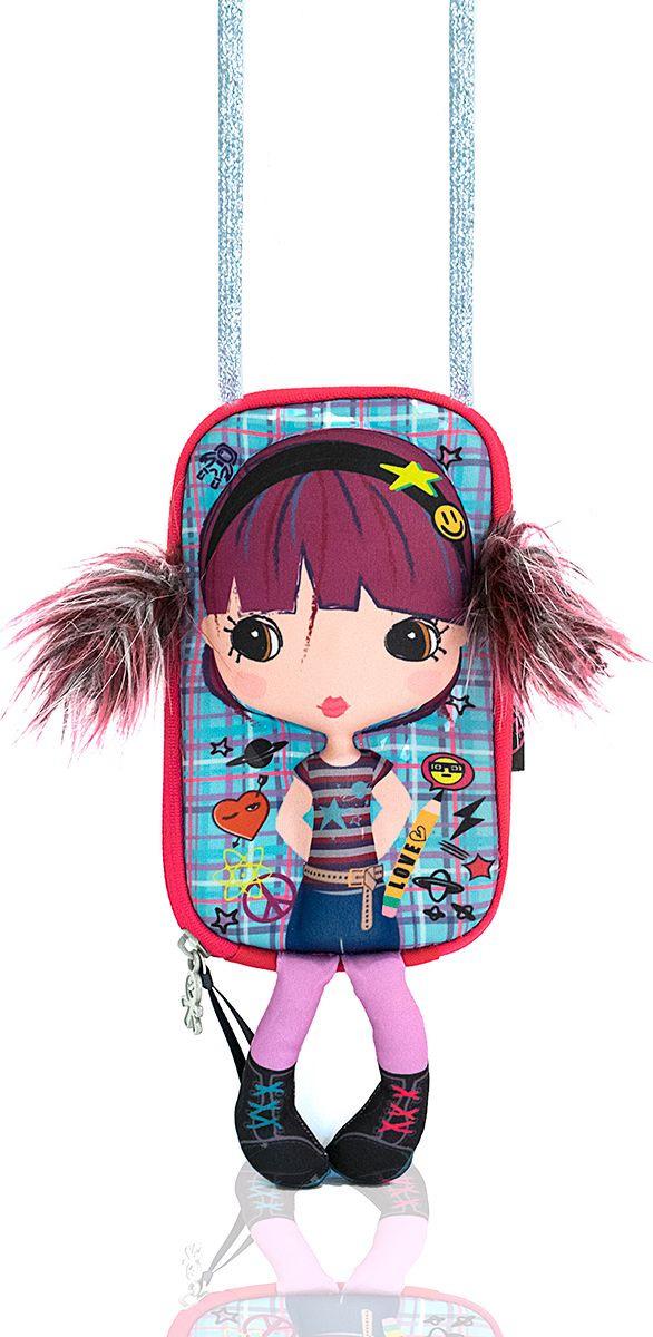 Сумочка-куколка для девочки Okiedog Tiny Treasures Умница, 17 см #1