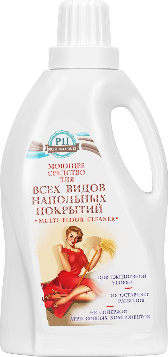 """Моющее средство для всех видов напольных покрытий """"Premium House"""", 1 л  #1"""