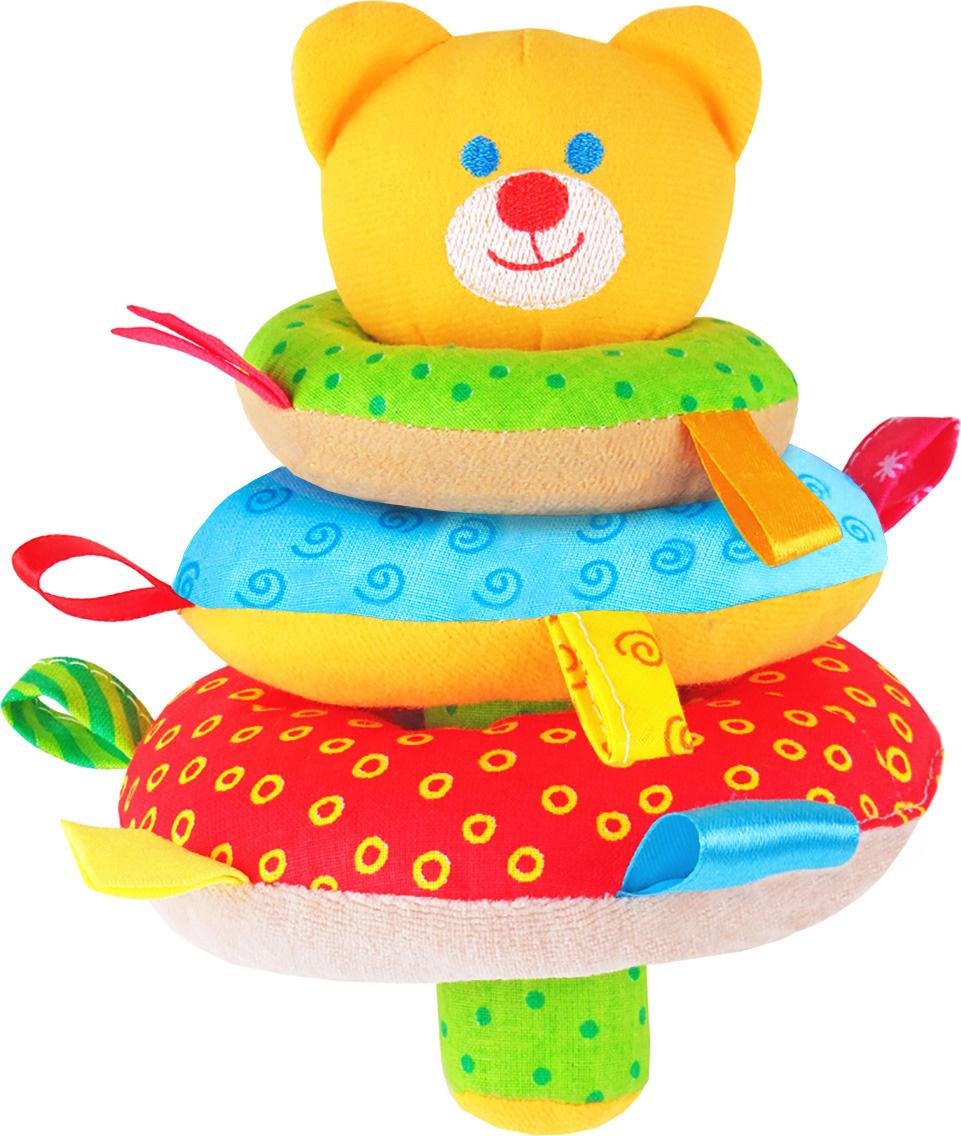 Мякиши Мягкая игрушка-пирамидка Мишка #1
