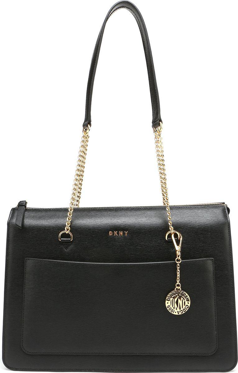 a65632503cac Сумка женская DKNY, R74A3009/001, черный — купить в интернет-магазине  OZON.ru с быстрой доставкой