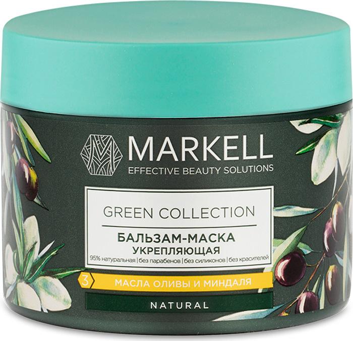 Markell Маска для волос Natural Green Collection укрепляющая, 300 мл #1