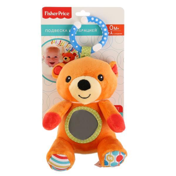 """Развивающая игрушка """"Мишка. Fisher price"""", с зеркальцем и вибрацией, 260287  #1"""