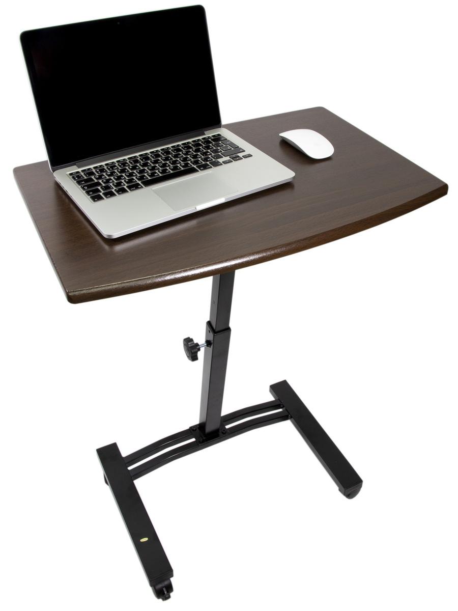 Столик/подставка для ноутбука UniStor на колёсиках, 60х40х84 см  #1