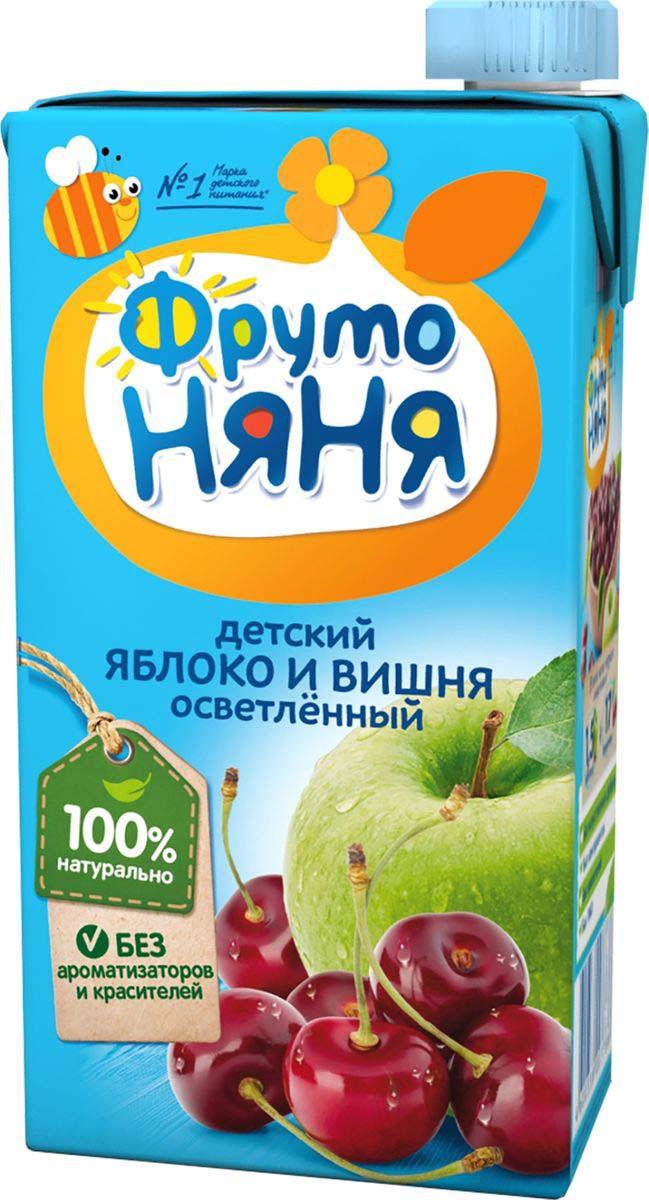 ФрутоНяня нектар из яблок и вишни, 0,5 л #1