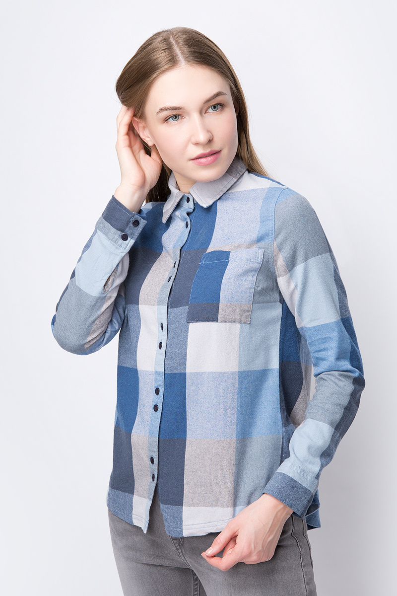 b57d8cc72a99f8a Рубашка Roxy — купить в интернет-магазине OZON.ru с быстрой доставкой