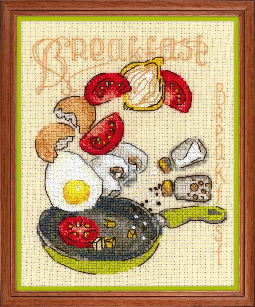 """Набор для вышивания Риолис """"Завтрак"""" счетным крестом, 902364, 15 х 18 см  #1"""