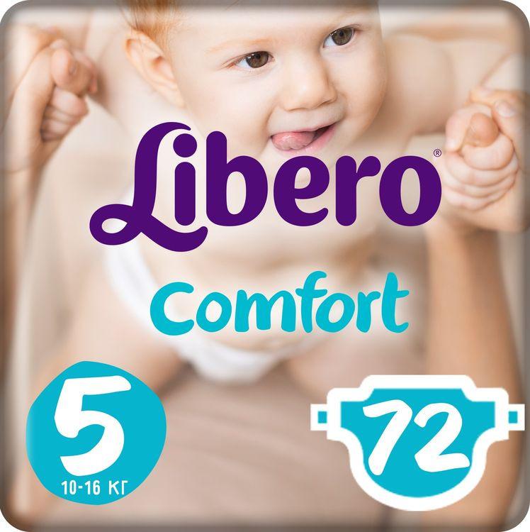 Libero Подгузники Comfort Size 5 (10-16 кг) 72 шт #1