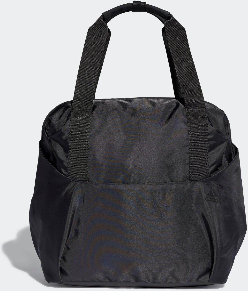 c511a1c869ba Сумка женская Adidas W TR ID TOTE, цвет: черный. DT4062 — купить в  интернет-магазине OZON.ru с быстрой доставкой