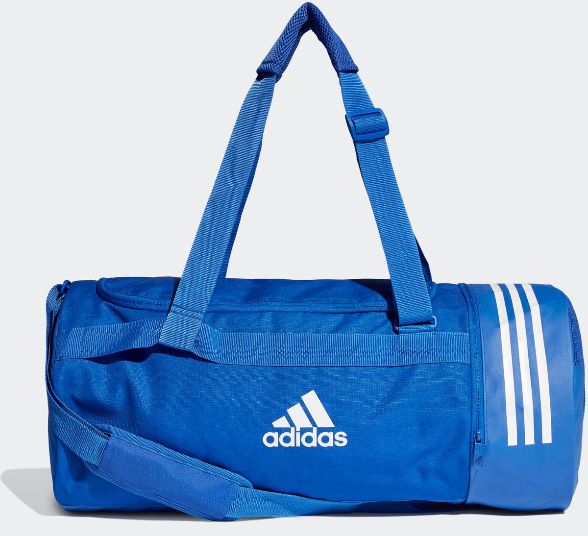 a75e0c284688 Сумка Adidas Cvrt 3S Duf M, цвет: голубой. DT8657 — купить в  интернет-магазине OZON.ru с быстрой доставкой