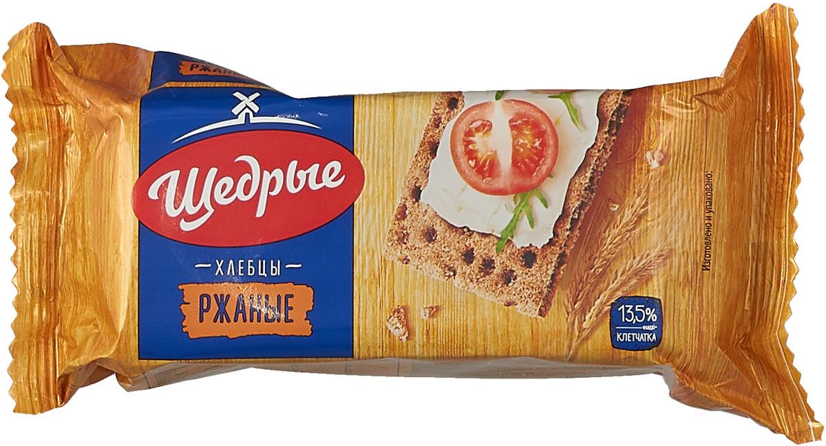 Хлебцы Щедрые Ржаные, 100 г х 32 шт #1