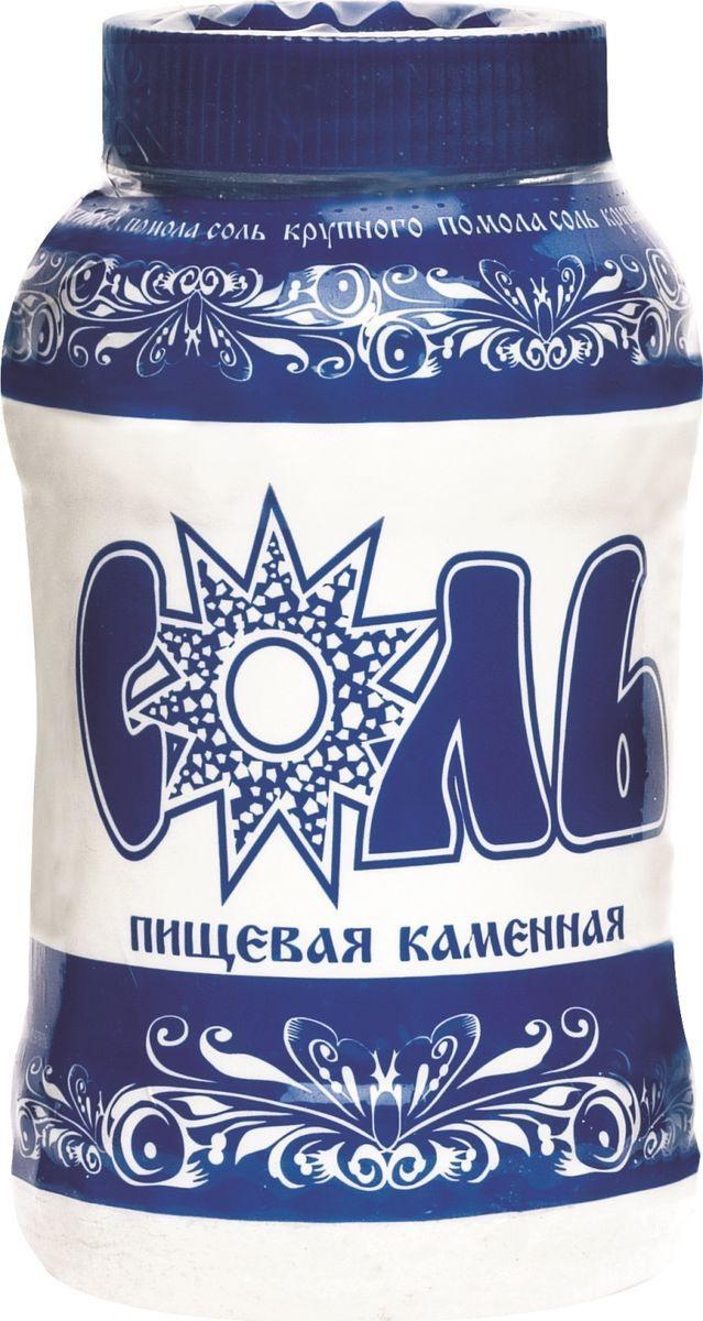 Соль пищевая Зимушка-краса каменная, помол №1, 1 кг #1