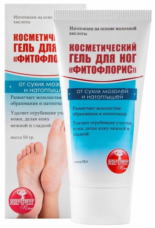 Гель для ног Фитофлорис от сухих мозолей и натоптышей, Алфит Плюс, 50 г  #1