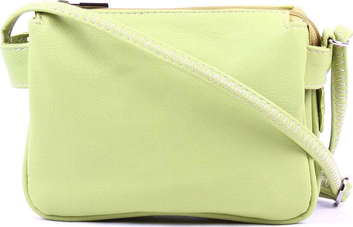 a240ec46d299 Сумка кросс-боди женская Медведково, 18с4668-к14, светло-зеленый — купить в  интернет-магазине OZON.ru с быстрой доставкой
