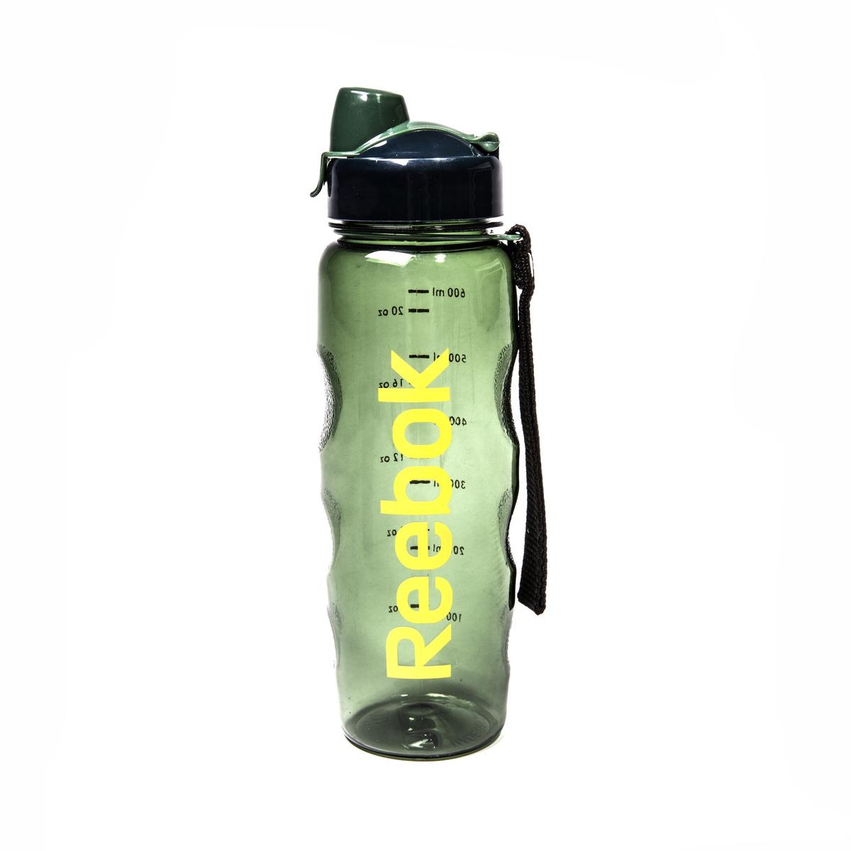 Бутылка для воды Reebok нет, зеленый, желтый, черный #1