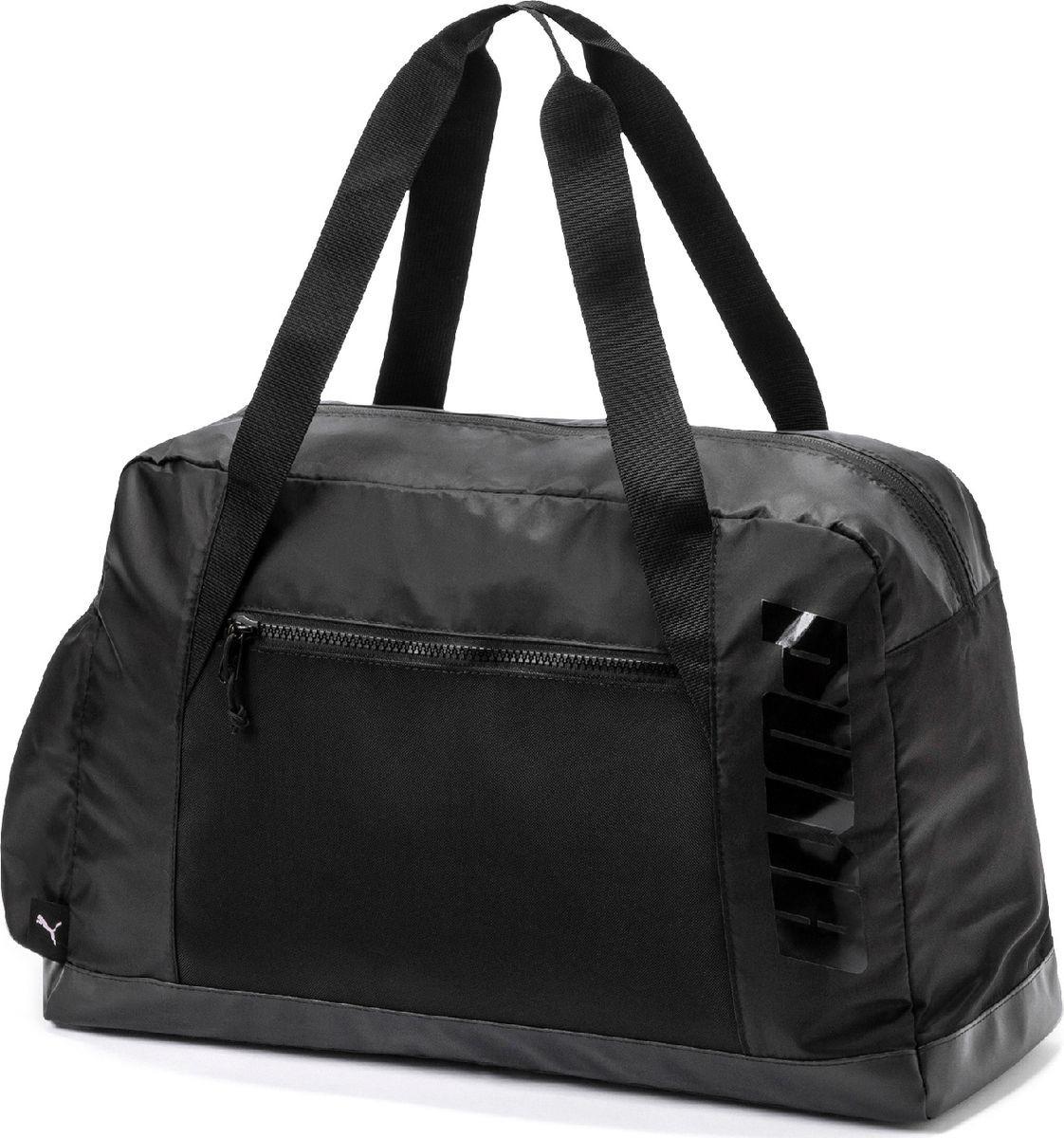 ee41abd56281 Сумка Puma AT Grip Bag, 07572901, черный — купить в интернет-магазине  OZON.ru с быстрой доставкой