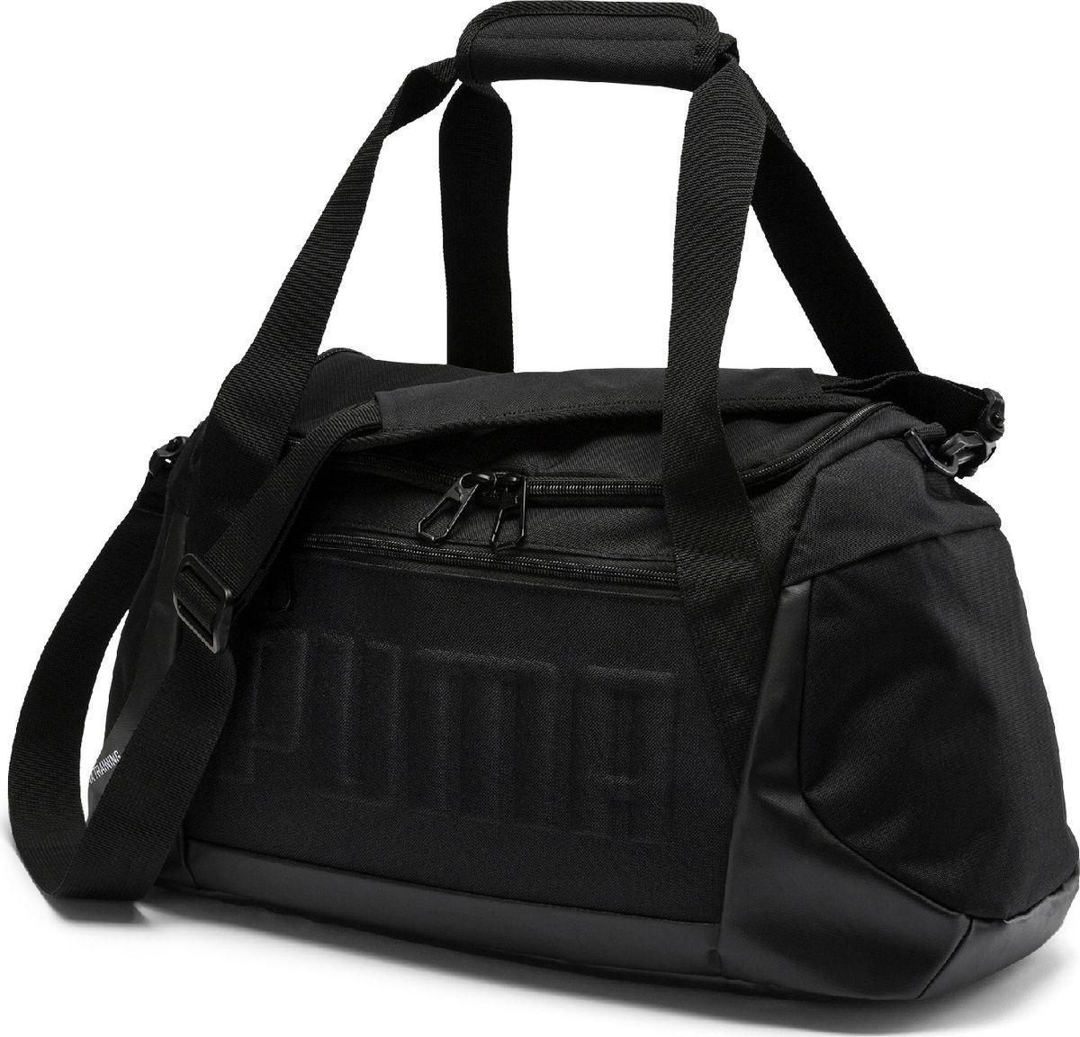 354183b29c20 Сумка Puma GYM Duffle Bag S, 07573901, черный — купить в интернет-магазине  OZON.ru с быстрой доставкой