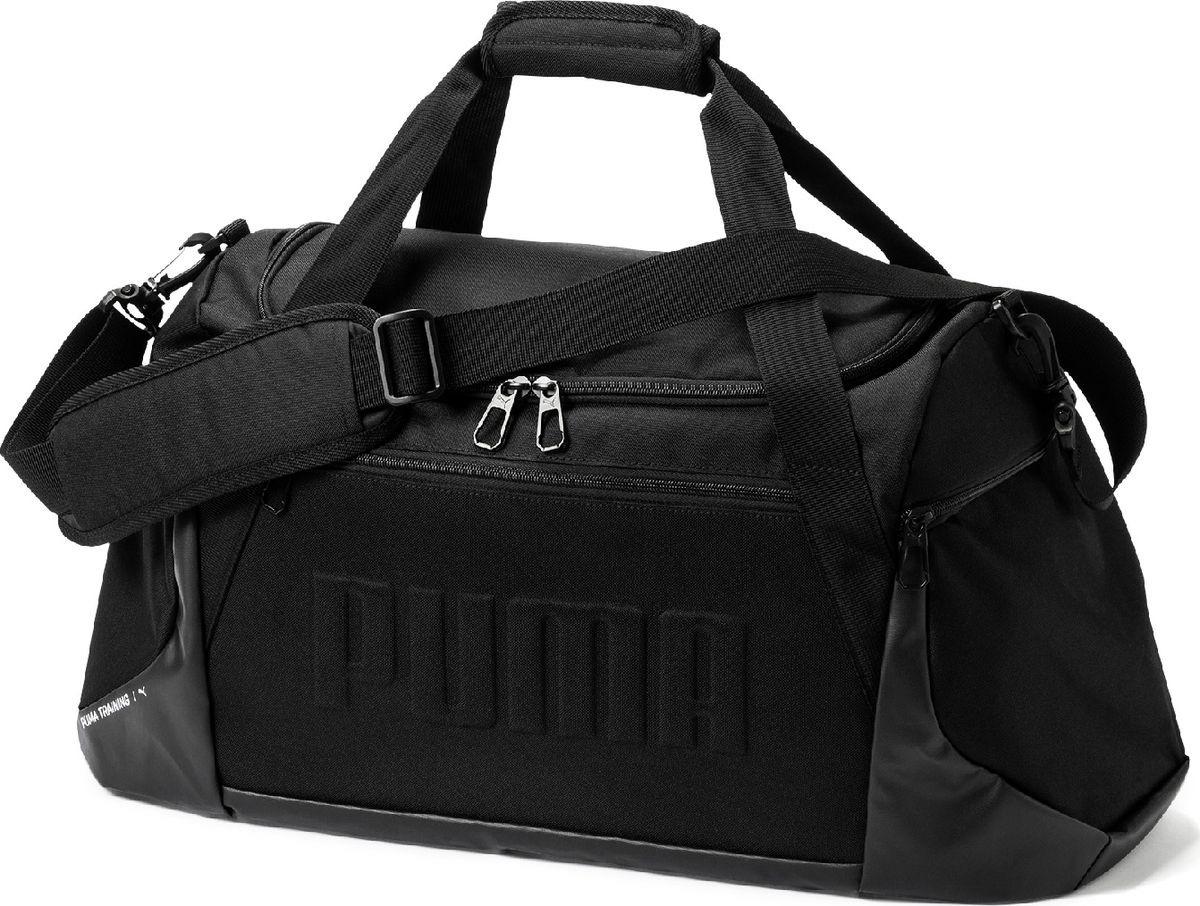 c75a2fdebcb3 Сумка мужская Puma GYM Duffle Bag M, 07574101, темно-синий — купить в  интернет-магазине OZON.ru с быстрой доставкой