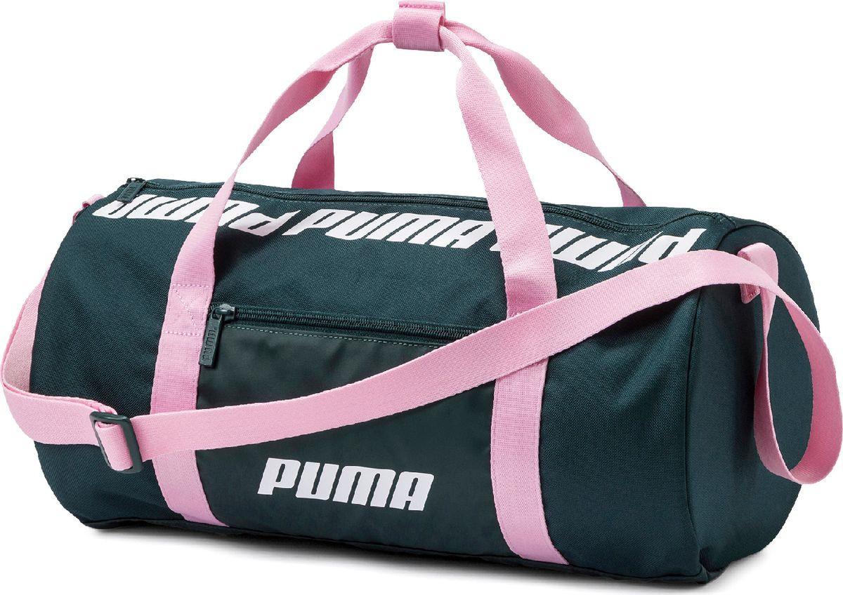 31b8e697bec2 Сумка Puma WMN Core Barrel Bag S, 07570403, изумрудно-зеленый — купить в  интернет-магазине OZON.ru с быстрой доставкой