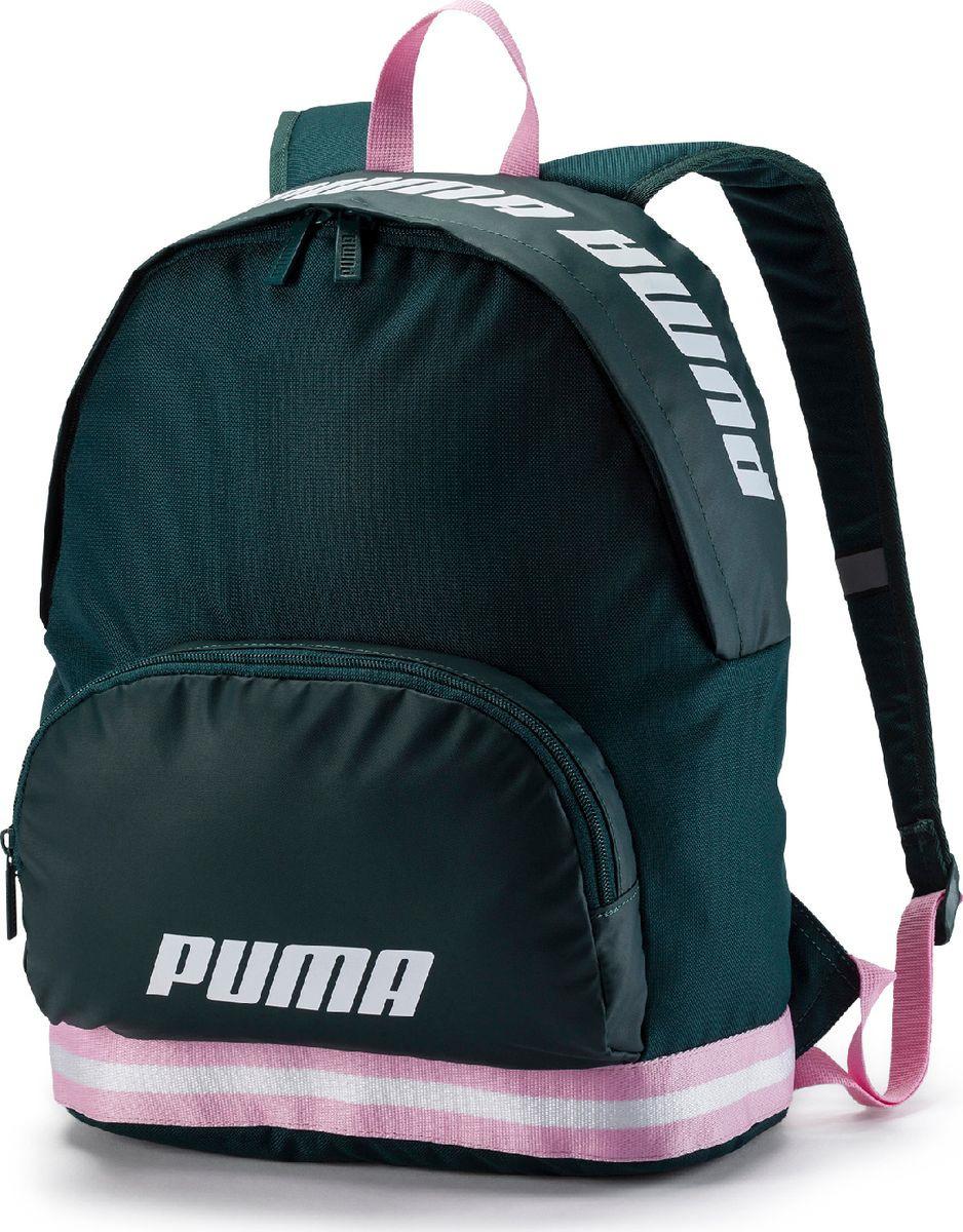 c4ede83a1c2a Рюкзак Puma, WMN Core Backpack, изумрудно-зеленый