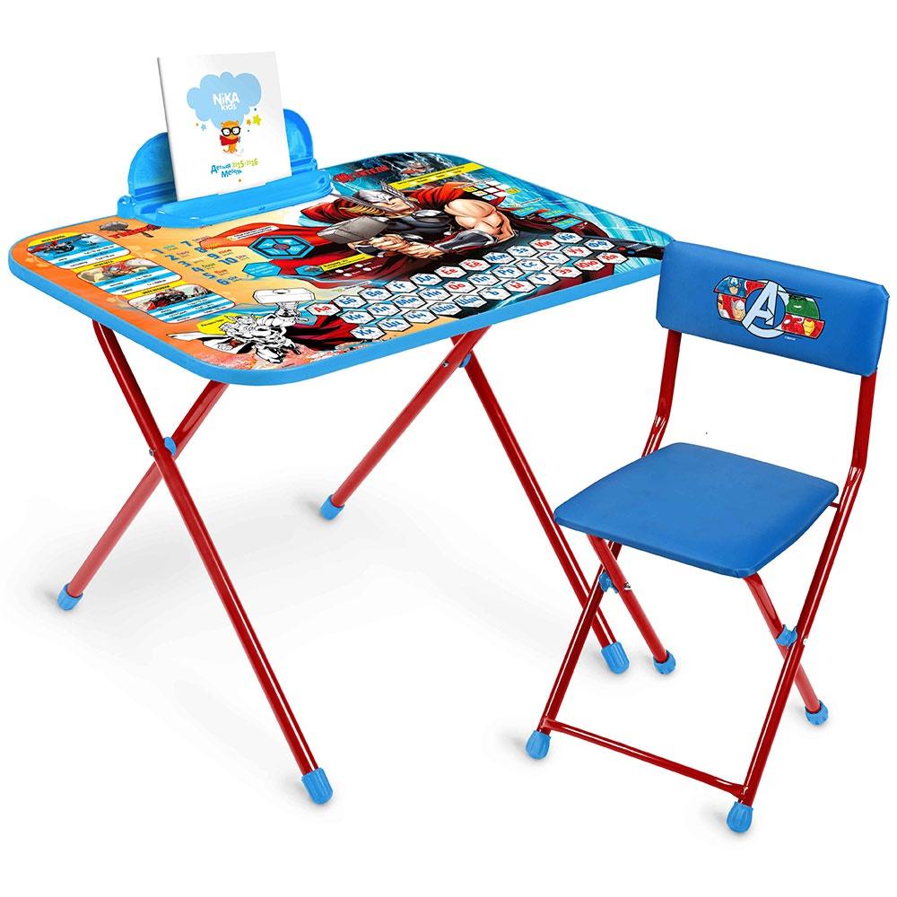 Комплект складной детской мебели со столом и стульчиком ...