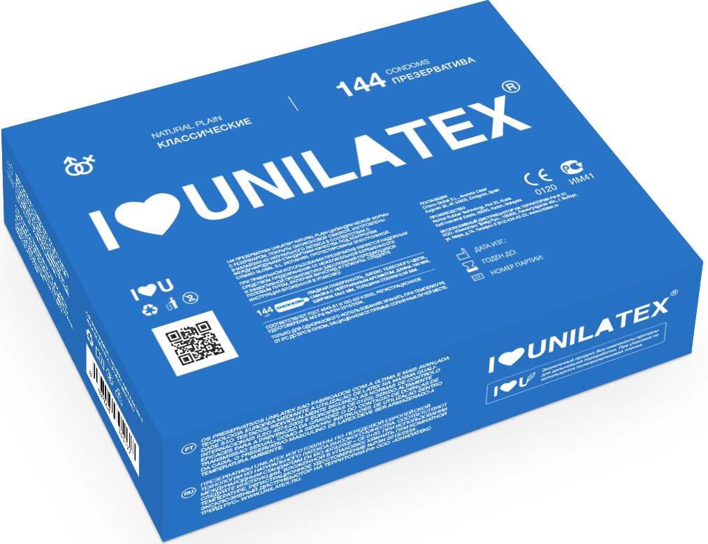 Презервативы Unilatex Natural Plain, 144 шт #1