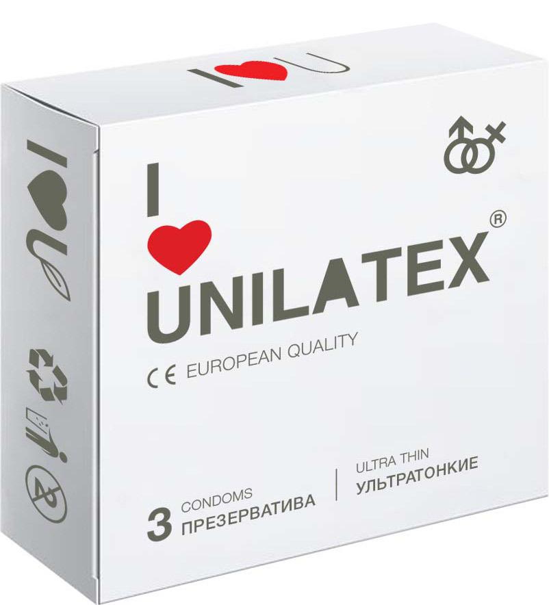 Презервативы Unilatex UltraThin, 3 шт #1