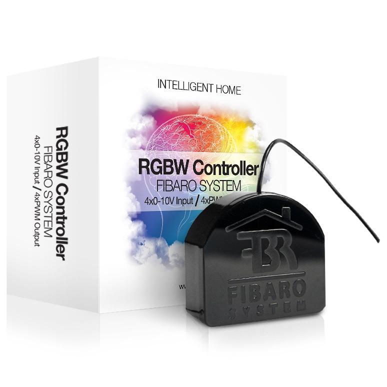 Модуль управления Fibaro светодиодными лентами RGBW Controller #1