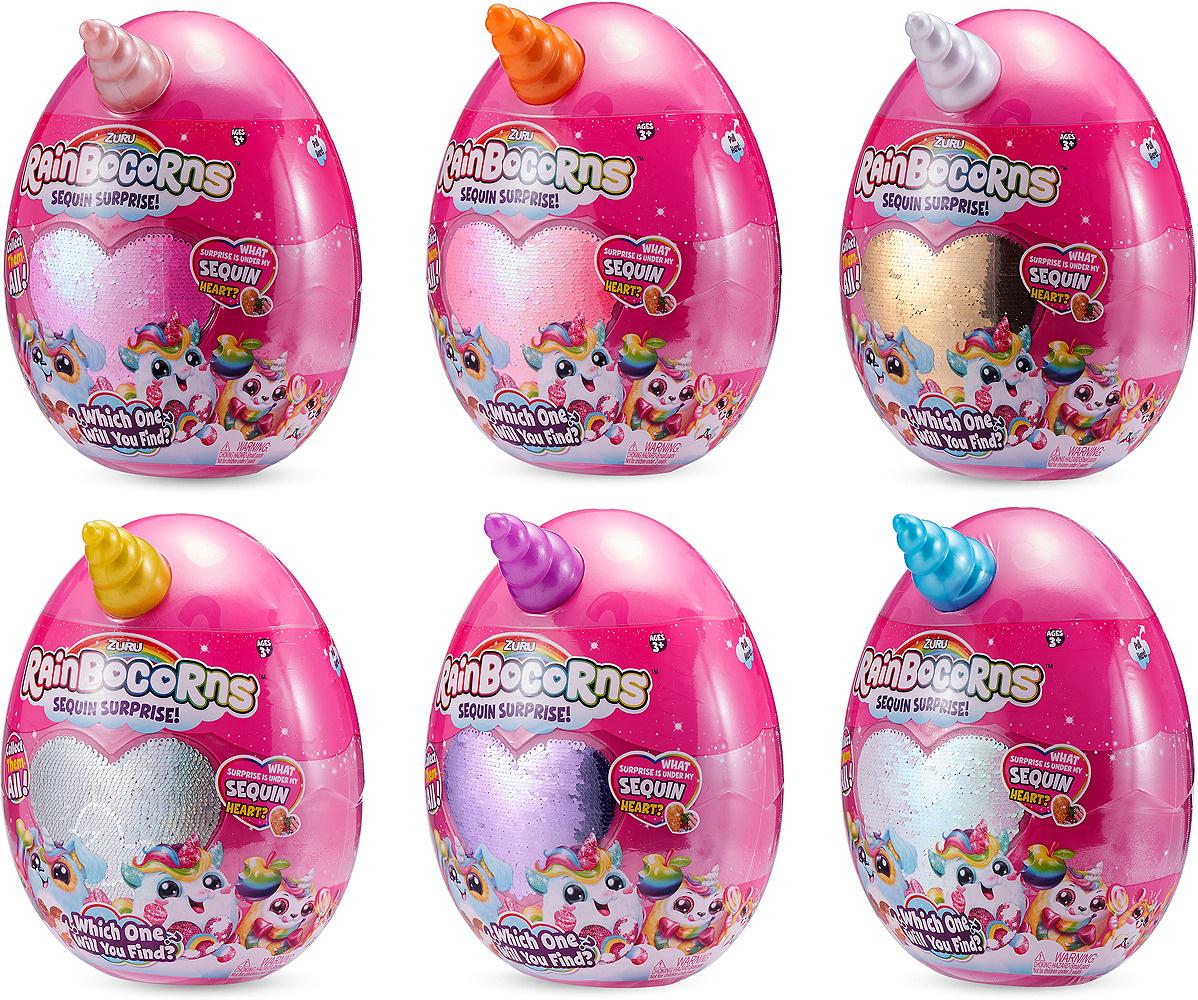 0fa8f490b84b8 Мягкая игрушка-сюрприз Zuru RainBocoRns, в яйце, Т15683А — купить в интернет -магазине OZON с быстрой доставкой