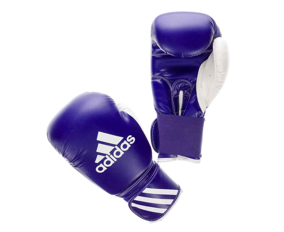 Перчатки боксерские Response сине-белые, вес 12 унций #1