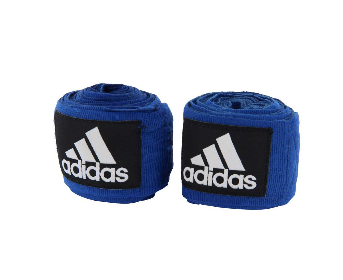 Бинт боксерский Adidas Boxing Crepe Bandage, синий, 3,5 м #1