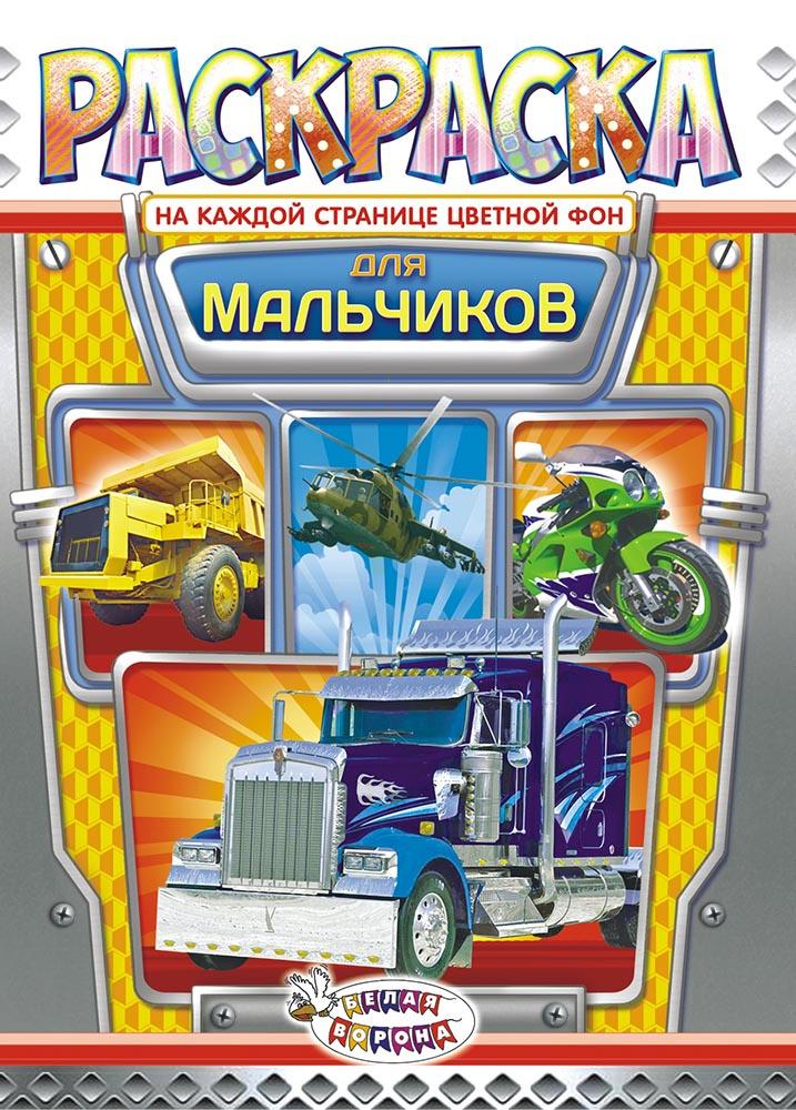 Раскраска ЛиС (А4) Для мальчиков РКСБ-525