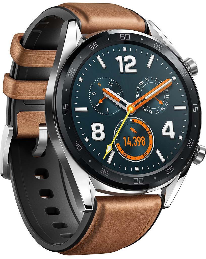 bf2f519942baa Умные часы Huawei Watch GT, коричневый — купить в интернет-магазине OZON с  быстрой доставкой