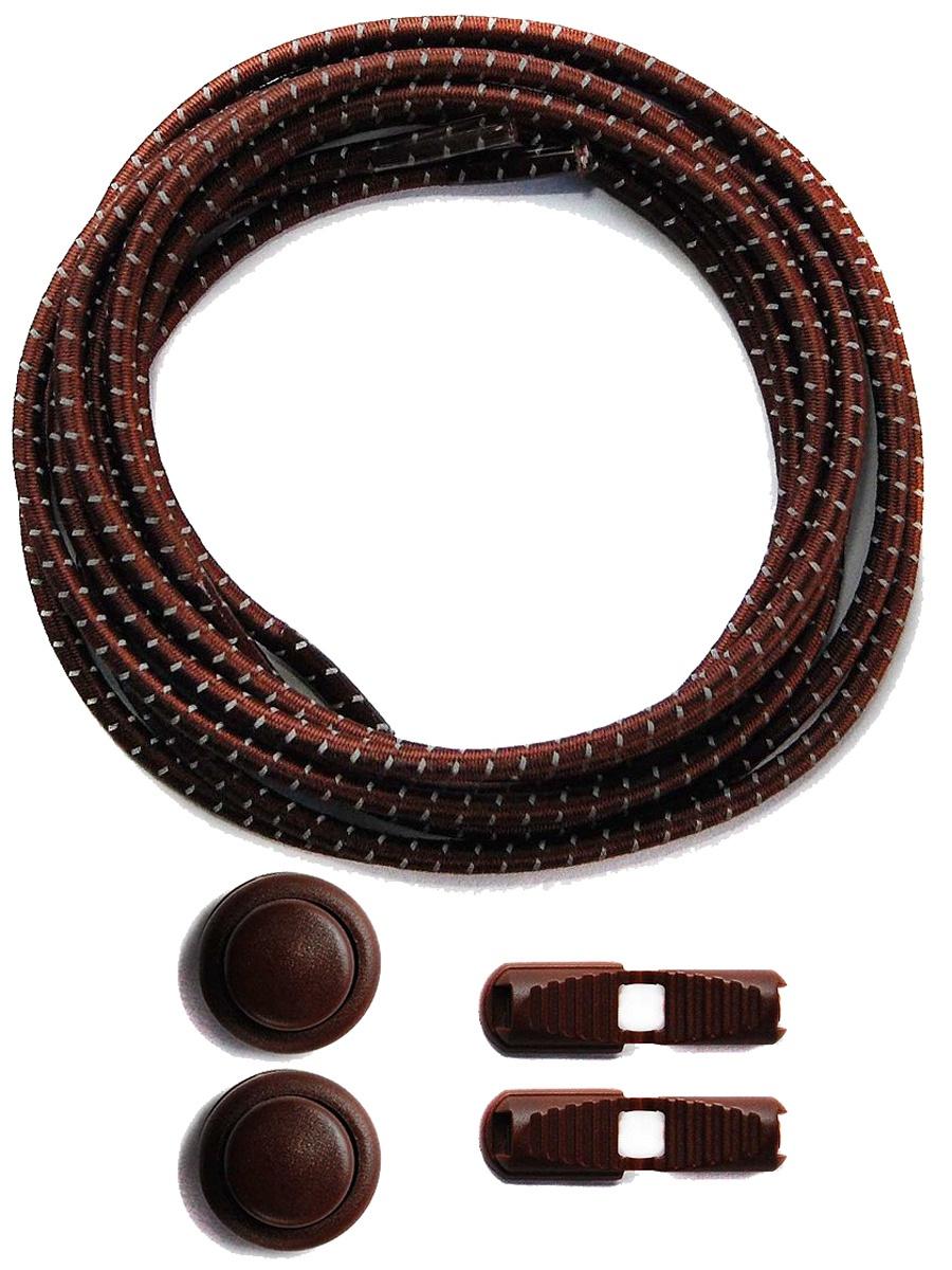Шнурки Lumo LM-LL-01, коричневый #1
