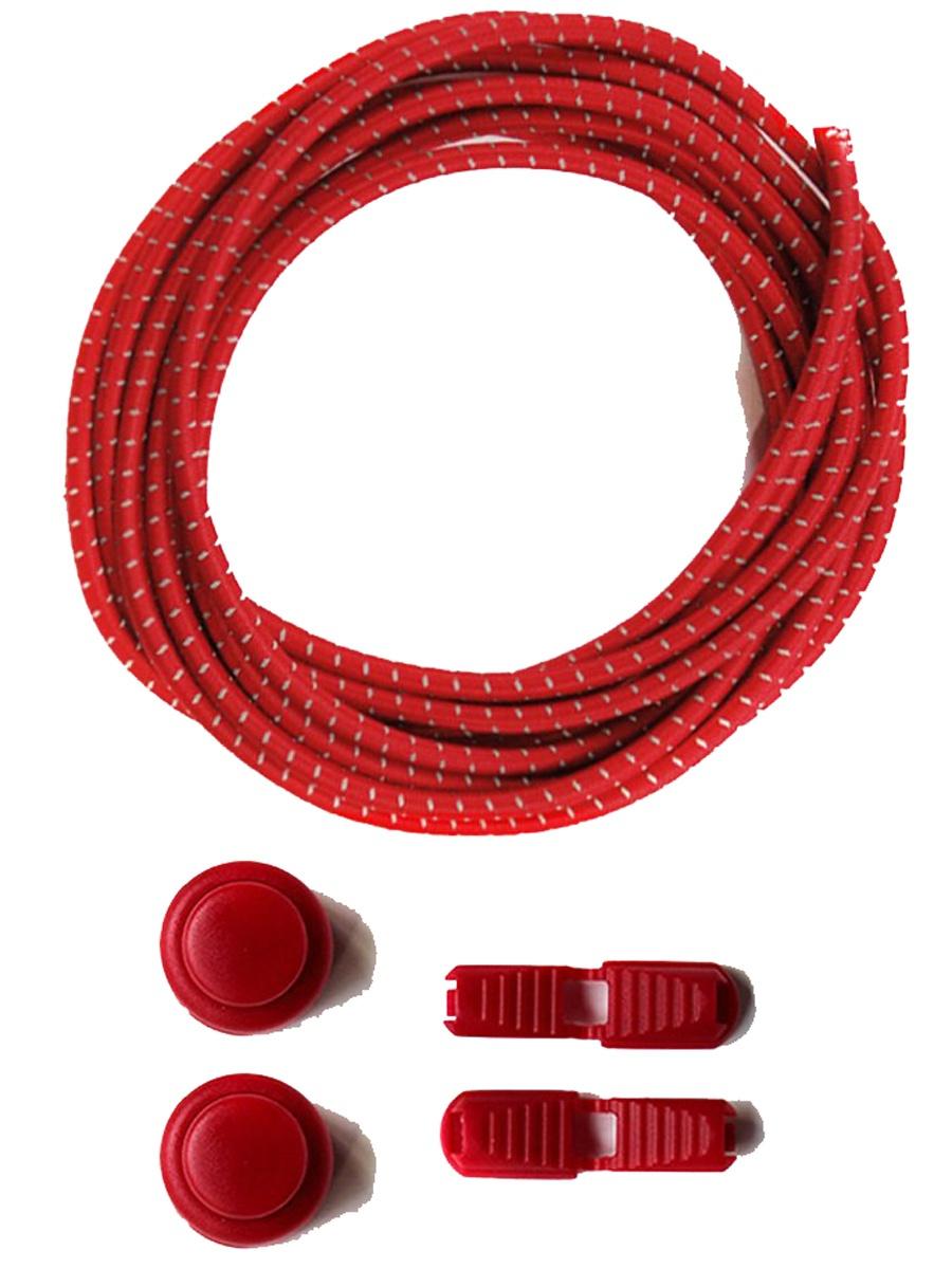 Шнурки Lumo LM-LL-04, красный #1