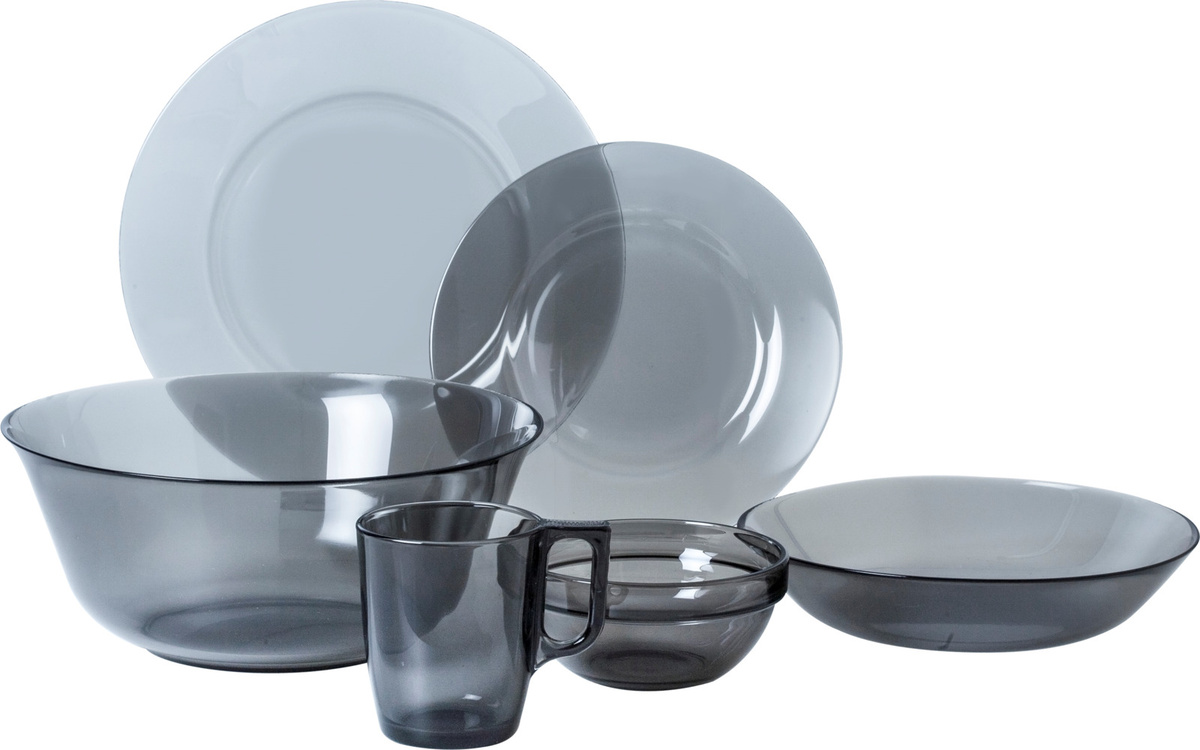 41472285d3570 Набор столовой посуды Luminarc Директор Графит, N5771 — купить в интернет- магазине OZON с быстрой доставкой