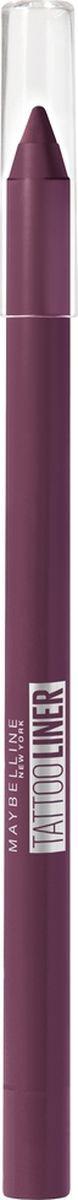 """Maybelline New York Карандаш для глаз """"Tatoo Liner"""", гелевый, интенсивный цвет, оттенок 942, Ягодный #1"""