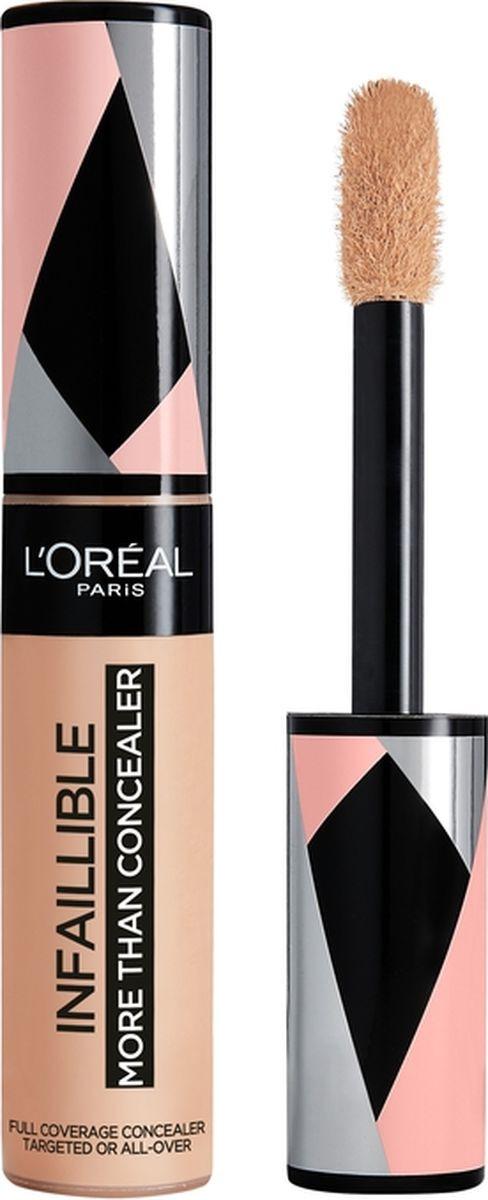 Консилер L'Oreal Paris Infaillible, мультифункциональный, 24 часа стойкости, оттенок 326, ванильный, #1