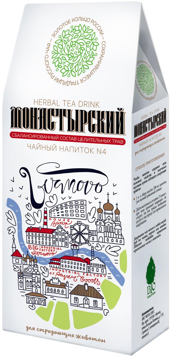 """Чайный напиток Bio Tradition МОНАСТЫРСКИЙ №4 """"Для страдающих животом"""", 50 г  #1"""