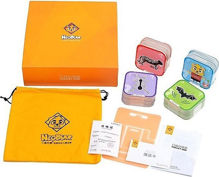 Зоопарк в кармане. Книги-карточки в трехмерно познавательных картах  #1