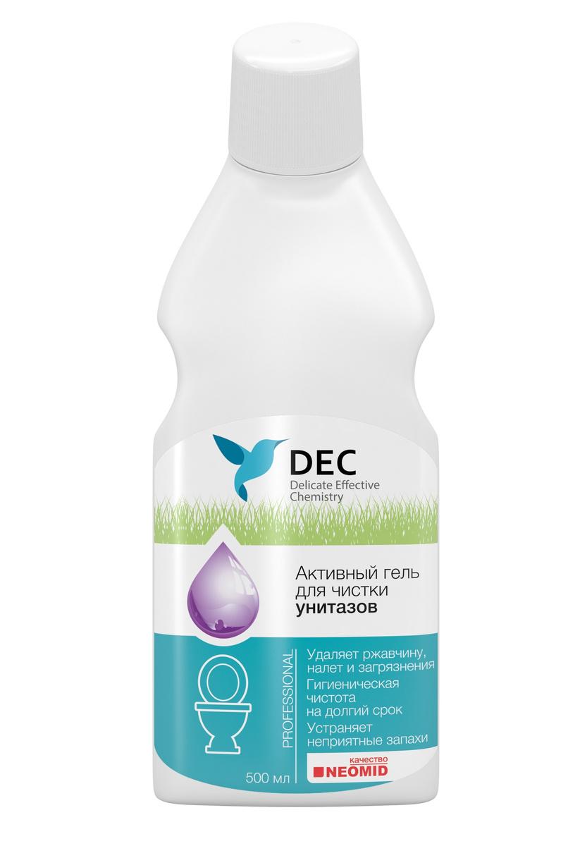 Средство для ванной и туалета DEC для чистки унитазов с антибактериальным эффектом, 500 мл  #1