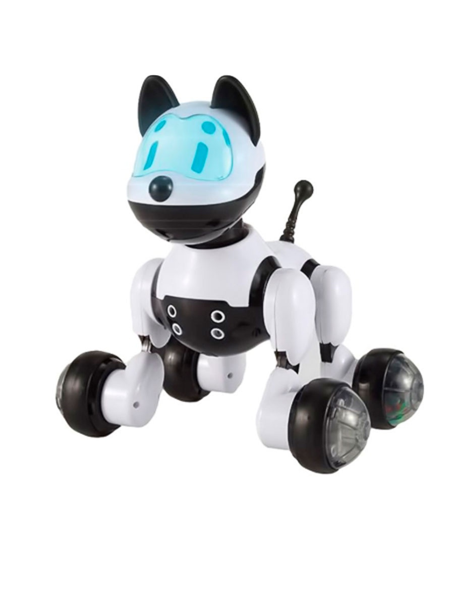 Интерактивная игрушка Fidget Go Барбос белый, черный #1
