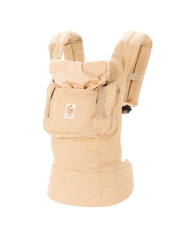Рюкзак-переноска Ergo Baby, BC5SNL, хлопок, бежевый #1