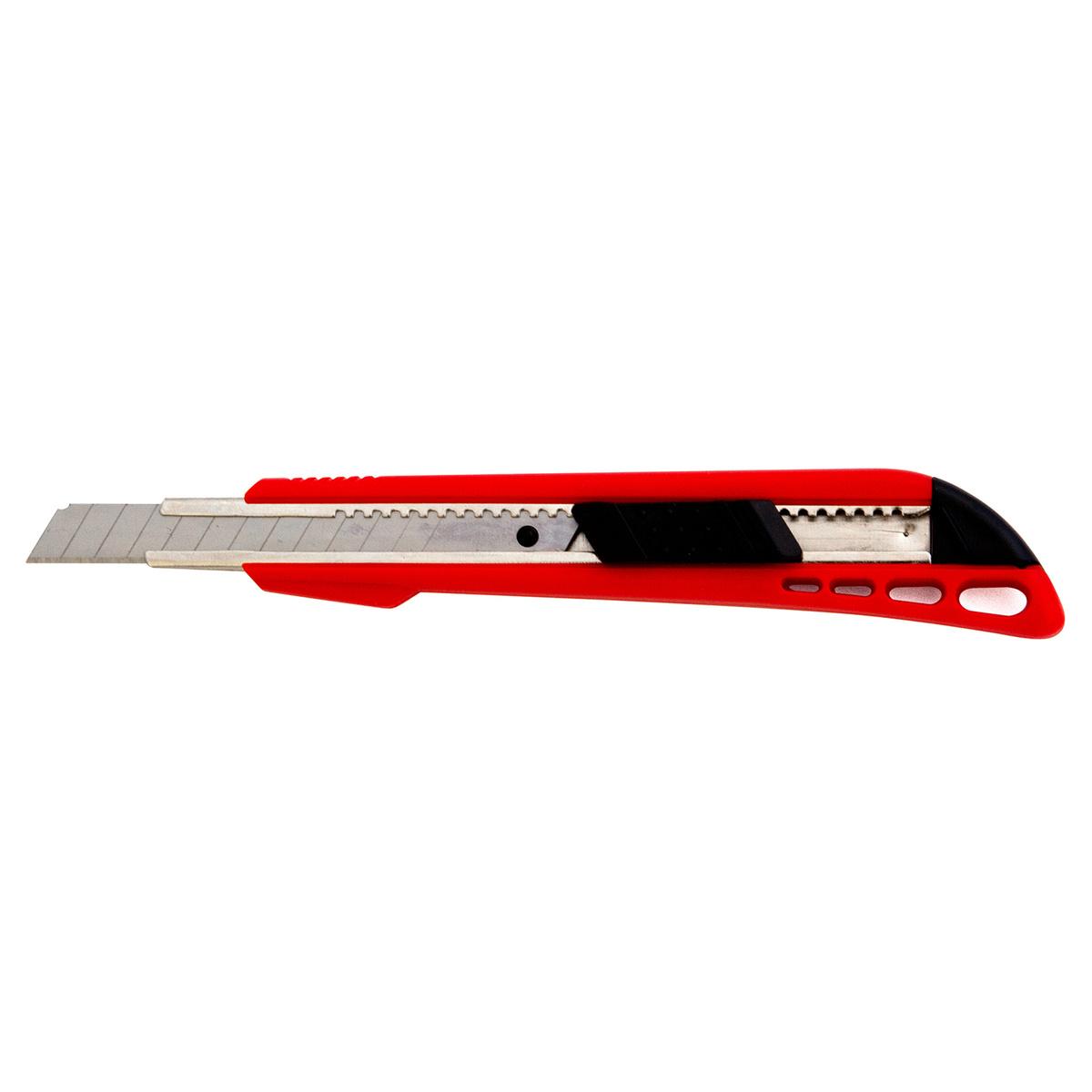 Нож строительно-ремонтный Vira 831211, красный #1