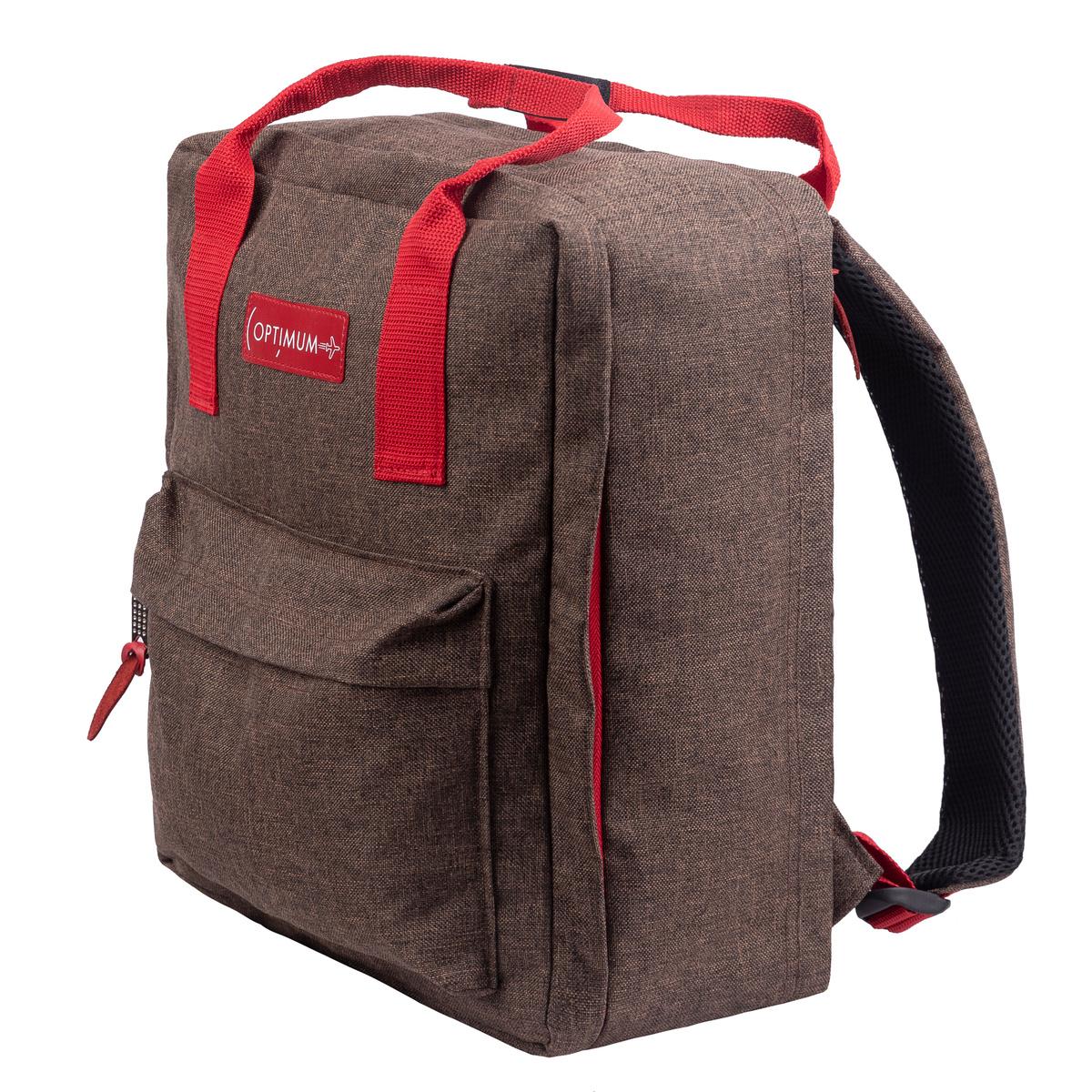 18fc7990cf87 Рюкзак Optimum Pobeda, коричневый — купить в интернет-магазине OZON.ru с  быстрой доставкой