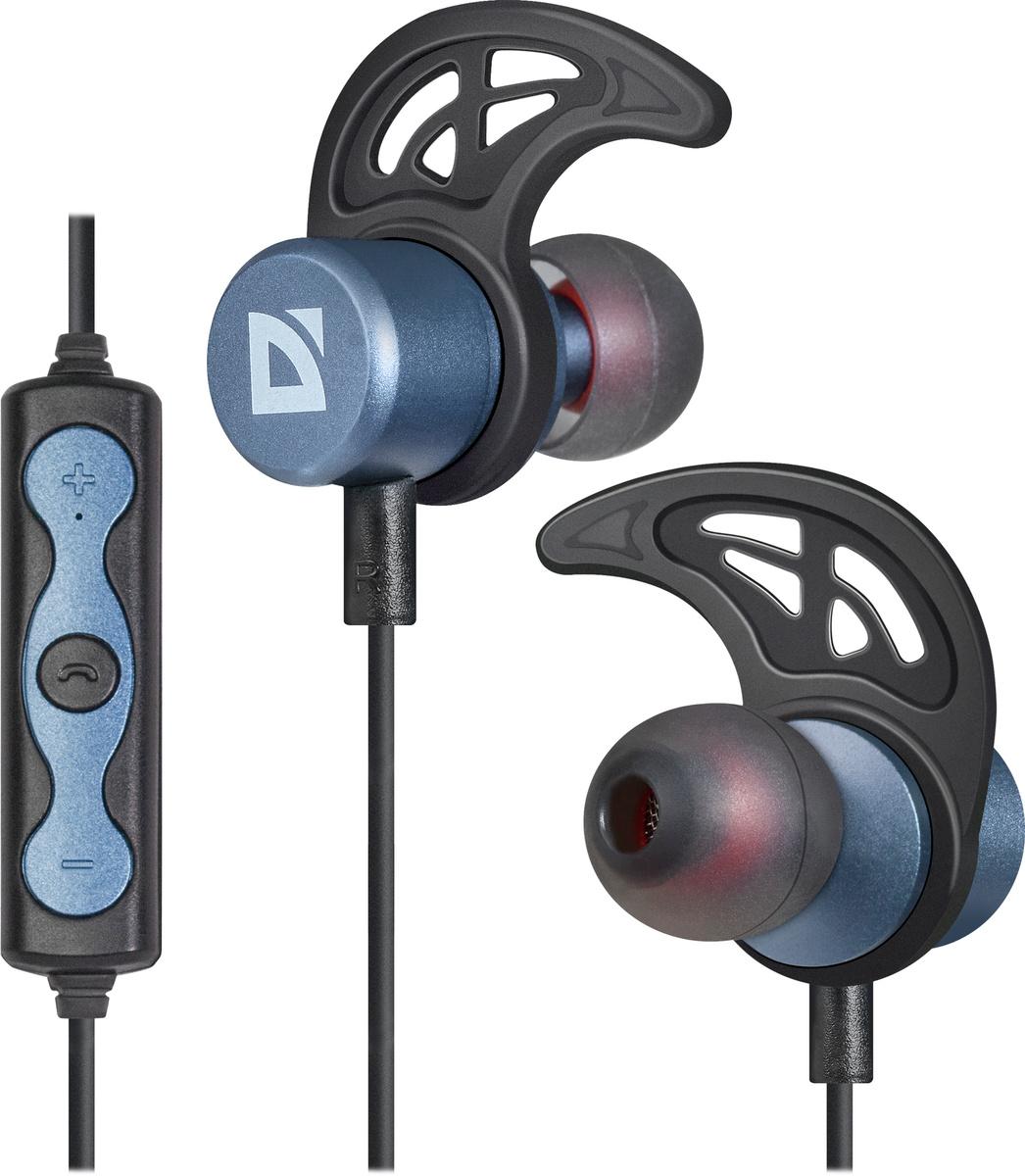 Беспроводные наушники Defender FreeMotion B685, синий + черный, внутриканальные  #1
