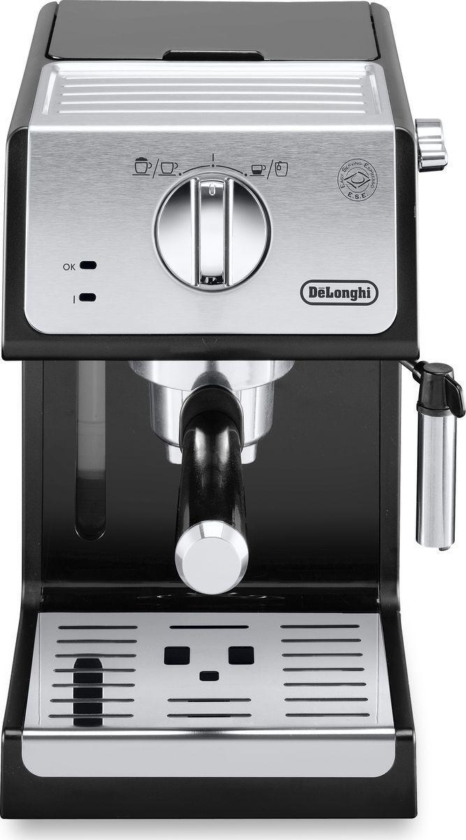 Кофеварка рожковая DeLonghi ECP33.21.BK, черный #1