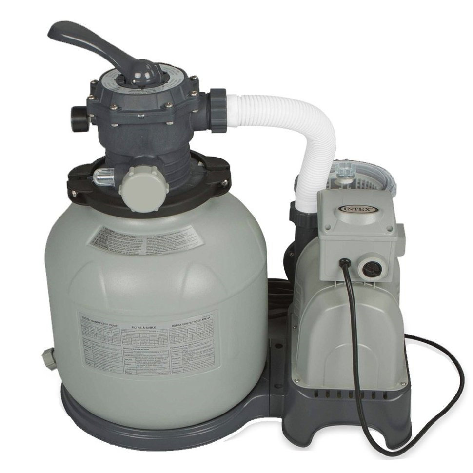 7866f4d533a3 Фильтр-насос для бассейна Intex, песочный, с28648, мультиколор, 1600  гал/час, 220V — купить в интернет-магазине OZON с быстрой доставкой